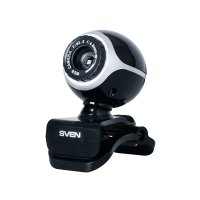 SVEN (IC-300 Black-Silver) Web-Camera (640x480, USB, микрофон)